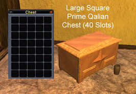 Large Square Prime Qalian Chest