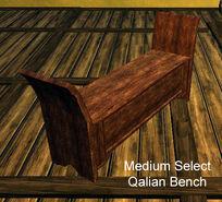Medium Select Qalian Bench