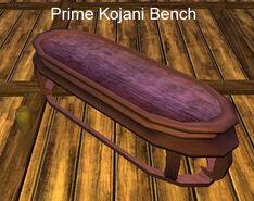 Prime Kojani Bench