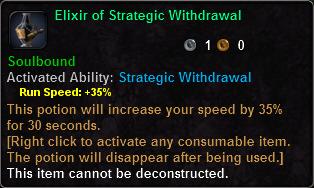 Elixir of Strategic Withdrawal