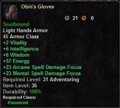 Obin's Gloves