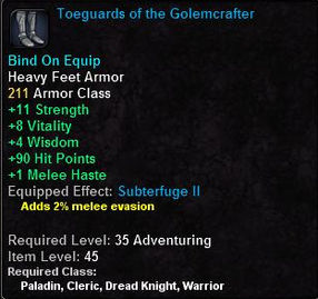Toeguards of the Golemcrafter