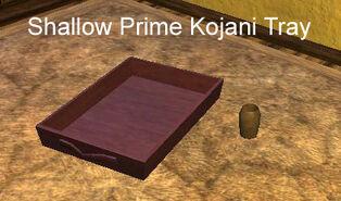 Shallow Prime Kojani Tray