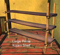 Large Prime Kojani Shelf
