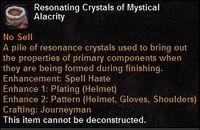 Resonating crystals magicalalacrity
