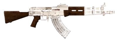 Silver AK-47