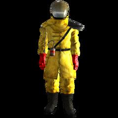 The Exterminator's suit