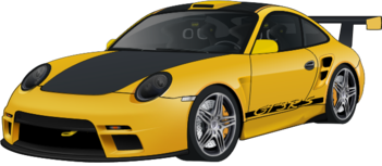File:Porsche 911 GT3 RS yellow turbo.png