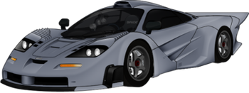 Mclaren F1 GTR Longtail gray