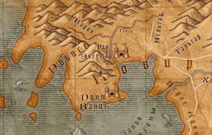 Карта Ковира и Повисса