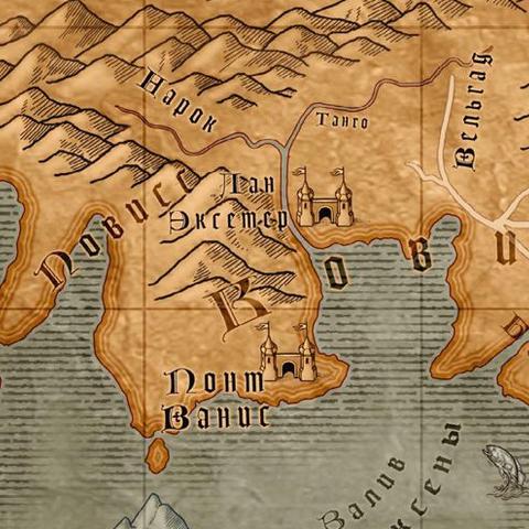 Карта Тальгара