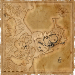 Карта Старой усадьбы