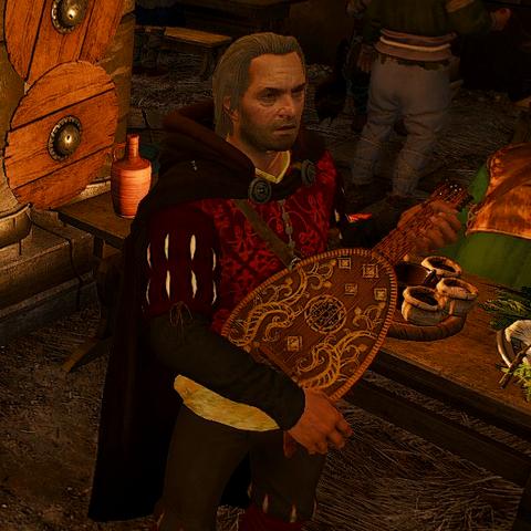 Дрогодар на пиру в Каэр Трольде