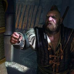 Золтан Хивай, наемник и предприниматель, один из лучших друзей Ведьмака.