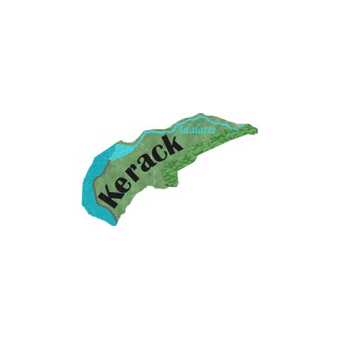 Предполагаемая карта Керака