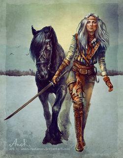 Цирилла и Кельпи (Автор - Татьяна Анор)