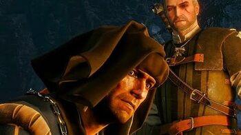 Встреча Геральта с Роше в игре Ведьмак 3