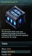 Armored Hold III