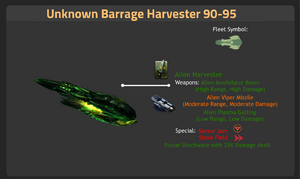 Unknown Barrage Harvester 90-95