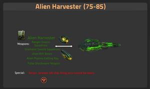 Alien Harvester 75-85-0