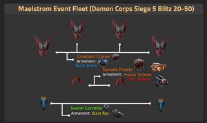 Demon Corps Siege 5 Blitz 20-50