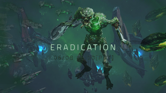 Eradication Banner