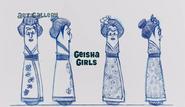 Geishaconcept