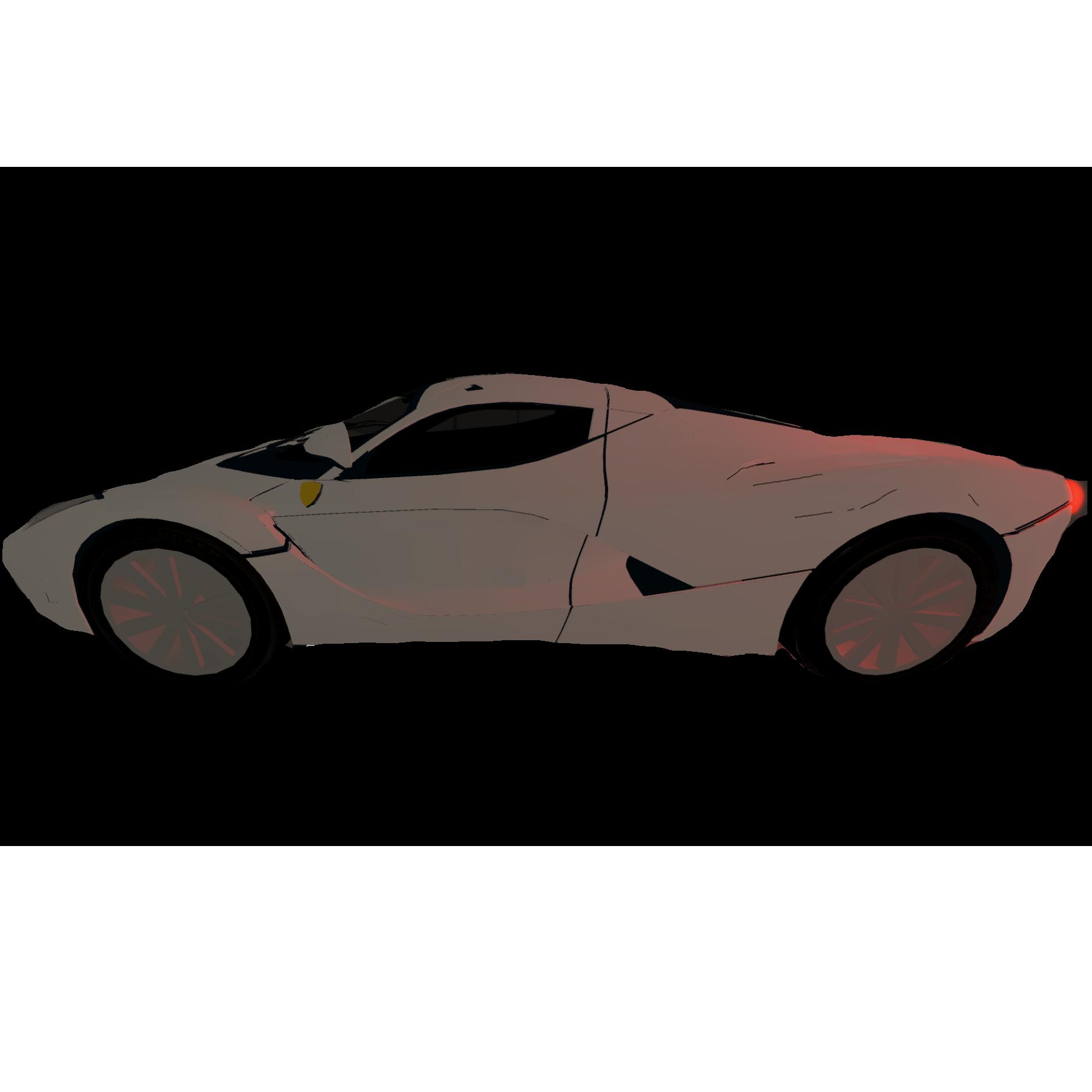 Lamborghini Egoista Vehicle Sim: Image - Ferrari La FeFerrari.PNG