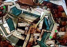 Quest Map Dark Tower