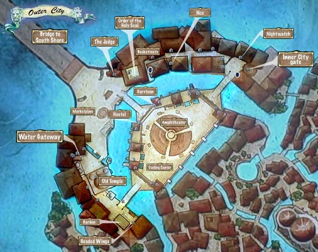 Map of Outer City