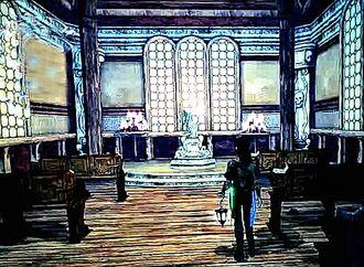 Scarlett in Cursed Chapel