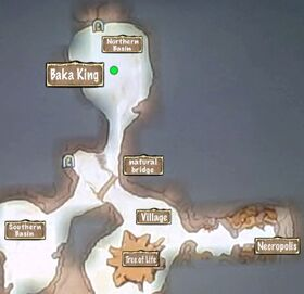 Quest Map The Baka King