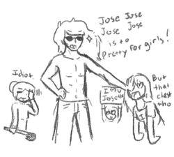 Jose jose jose jose is too pretty sketch by mcmlppgfan-d6st72x