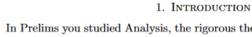 What is analysis