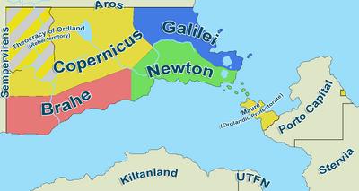 Ordland Map