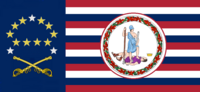 Virginia State Flag Proposal No 18h Designed By Stephen Richard Barlow 19 NOV 2014 at 1211 hrs cst