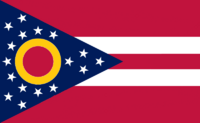 Ohio State Flag Proposal No. 12 Designed By Stephen Richard Barlow 29 AuG 2014 at 1159hrs cst