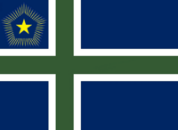 Maine State Flag Proposal No 10 Designed By Stephen Richard Barlow 27 OCT 2014 at 1318hrs cst