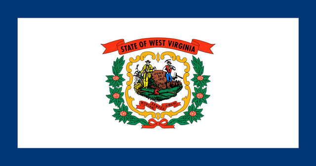 File:Current flag of West Virginia.png