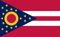 Ohio State Flag Proposal No. 5 Designed By Stephen Richard Barlow 29 AuG 2014 at 1151hrs cst