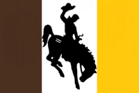 Wyoming State Flag Proposal No 7 Designed By Stephen Richard Barlow 08 OCT 2014 at 1036hrs cst