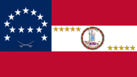 Virginia State Flag Proposal No 24 Designed By Stephen Richard Barlow 24 SEP 2014 at 1112hrs cst