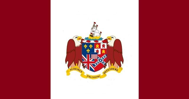 File:Alabama State Flag Proposal Crimson White and Crimson Feature of State Coat of Arms Designed By Stephen Richard Barlow 23 JULY 2014.jpg