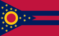 Ohio State Flag Proposal No. 10 Designed By Stephen Richard Barlow 29 AuG 2014 at 1156hrs cst