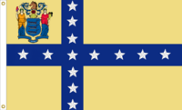 New Jersey State Flag Proposal No. 11a Designed By Stephen Richard Barlow 10 JAN 2015 at 1028 HRS CST