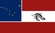 Alaska State Flag Proposal No 3 Designed By Stephen Richard Barlow 08 SEP 2014 at 2120hrs cst