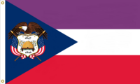 Utah State Flag Proposal No. 3c Designed By Stephen Richard Barlow 14 MAY 2015 at 0525 HRS CST