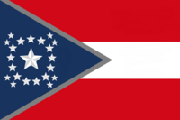 Alabama State Flag Proposal New Stars and Bars Constellation (D) Designed By Stephen Richard Barlow 12 NOV 2014 at 0737 hrs cst