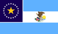 Illinois State Flag Proposal No 1 Designed By Stephen Richard Barlow 15 OCT 2014 at 1451hrs cst
