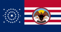 South Dakota State Flag Proposal No 4 Designed By Stephen Richard Barlow 20 AuG 2014 1851hrs
